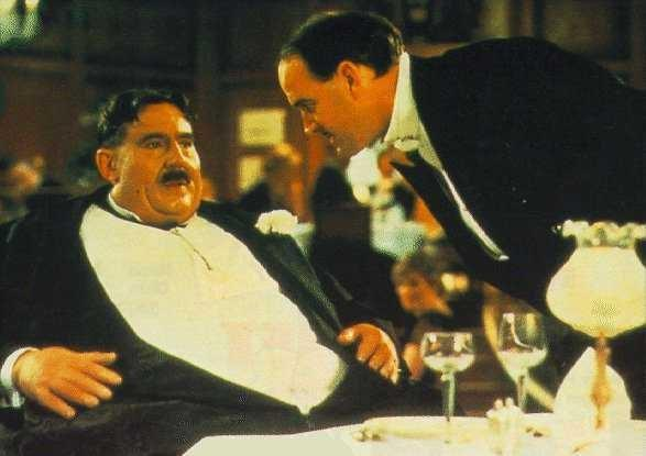 Mr Creosote uit Monty Pythons Meaning of life